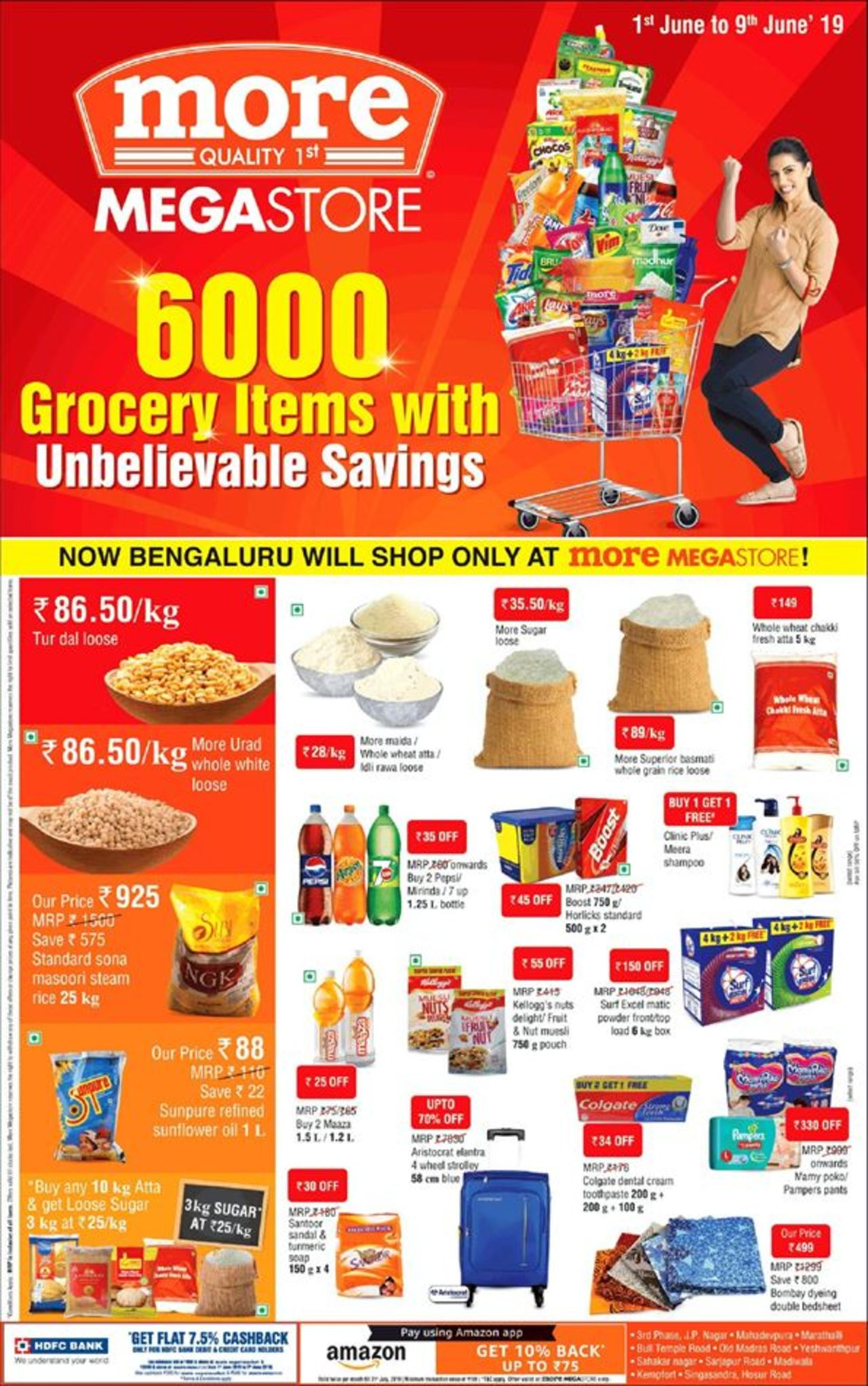 More Supermarket catalogue valid from 01/06/2019 - page number 1