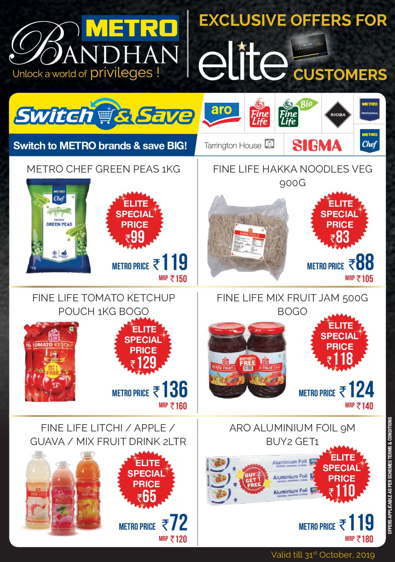 Metro catalogue valid from 17/09/2019 - page number 1